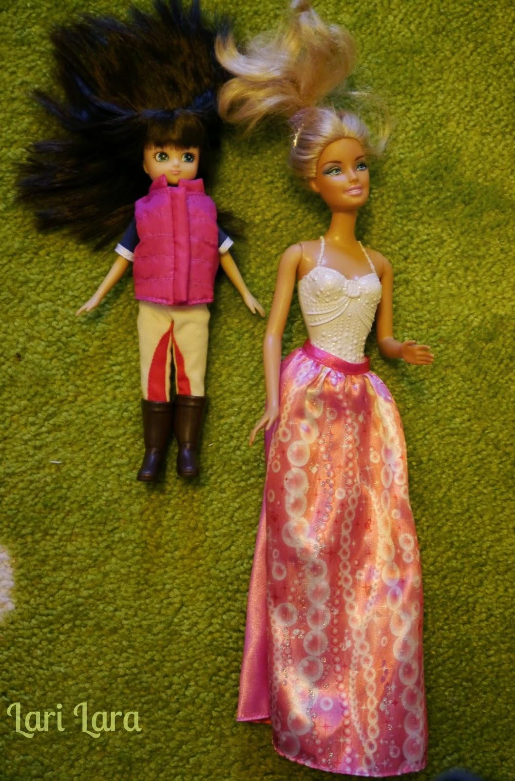 Lottie im Vergleich mit Barbie