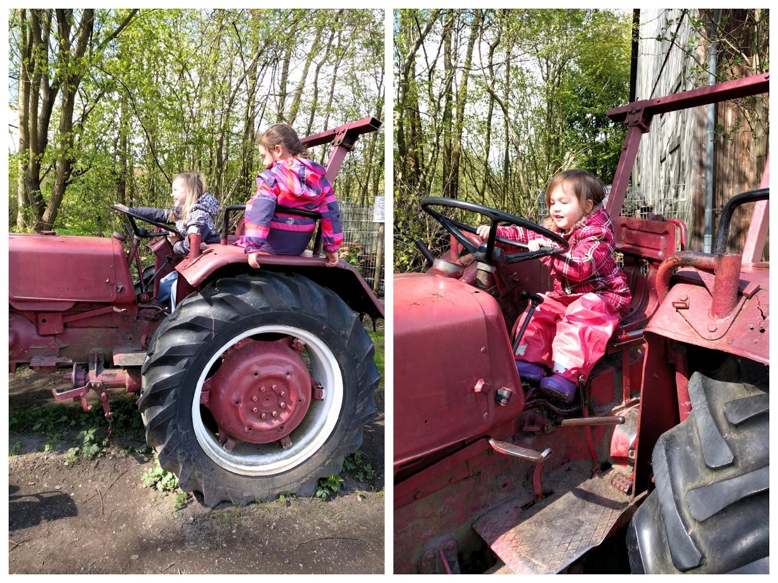 Traktorfahren mit www.larilara.de