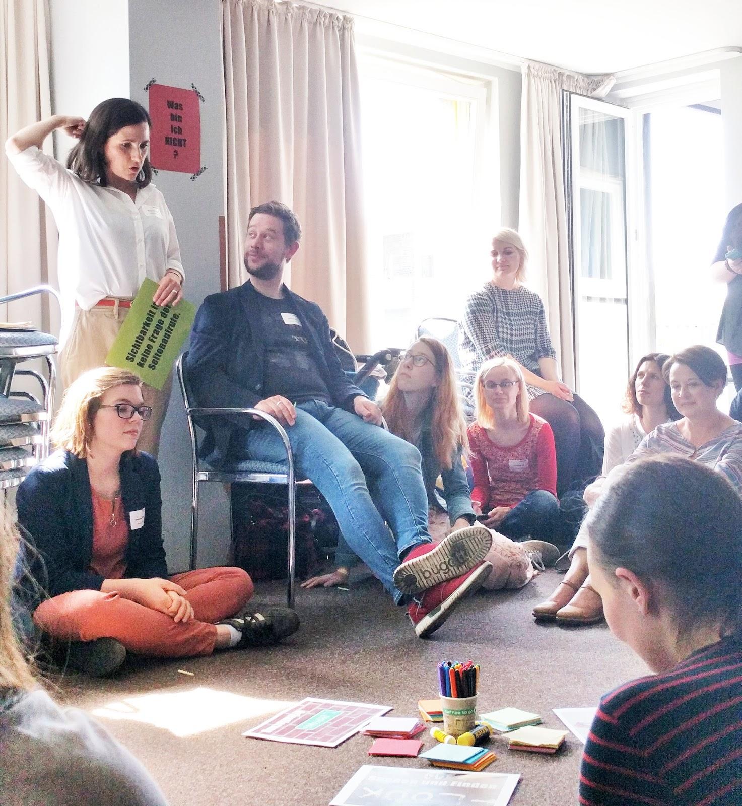 Lari Lara Workshop Sichtbarkeit als Blogger