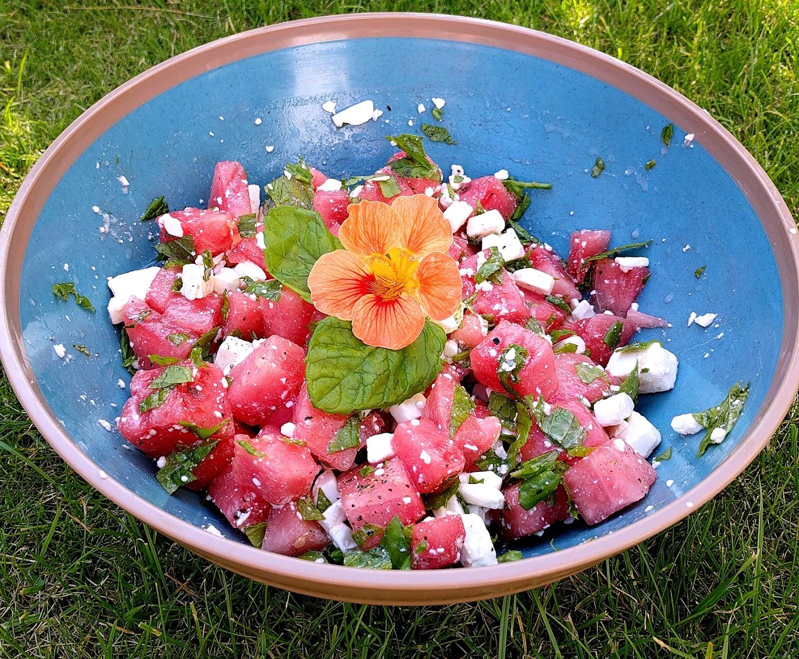 Rezept für einen leichten Sommersalat