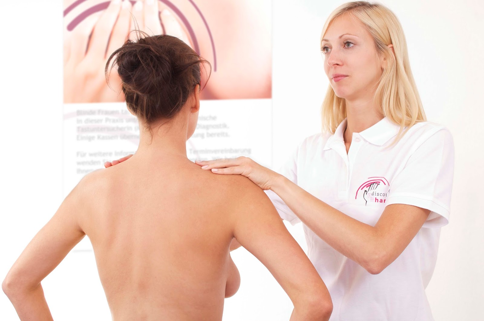 Tastuntersuchung Brustkrebsvorsorge