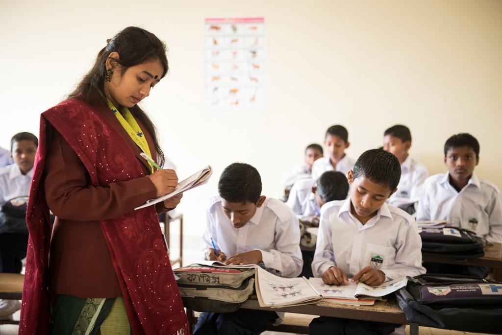 Schulunterricht im Kinderschutzhaus