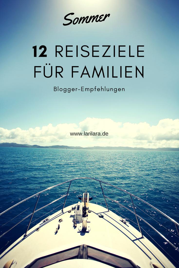 Familienreiseziele von Bloggern