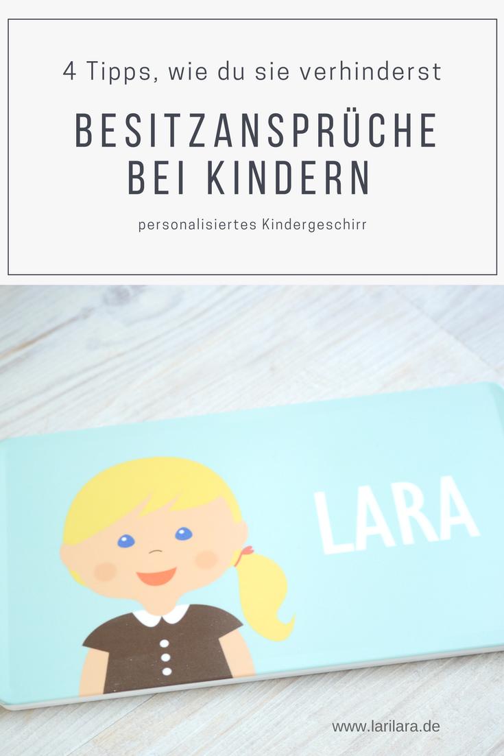 personalisiertes Kindergeschirr von Litteli