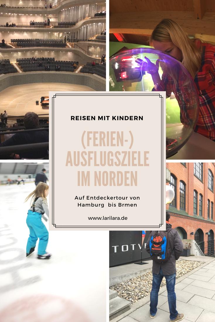 Reisen mit Kindern von Hamburg bis Bremen