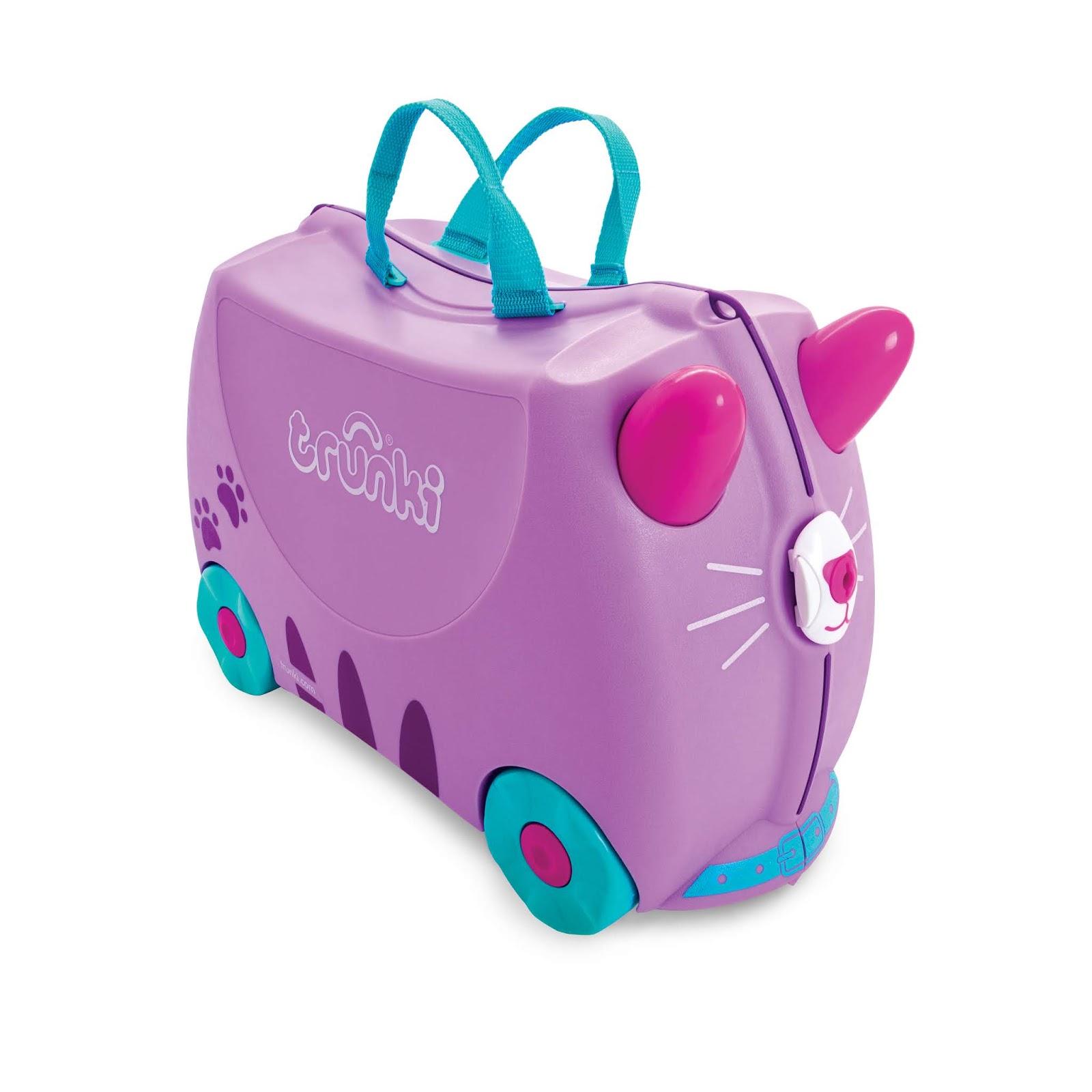 Mit dem Kinderkoffer Trunki auf große Reise gehen