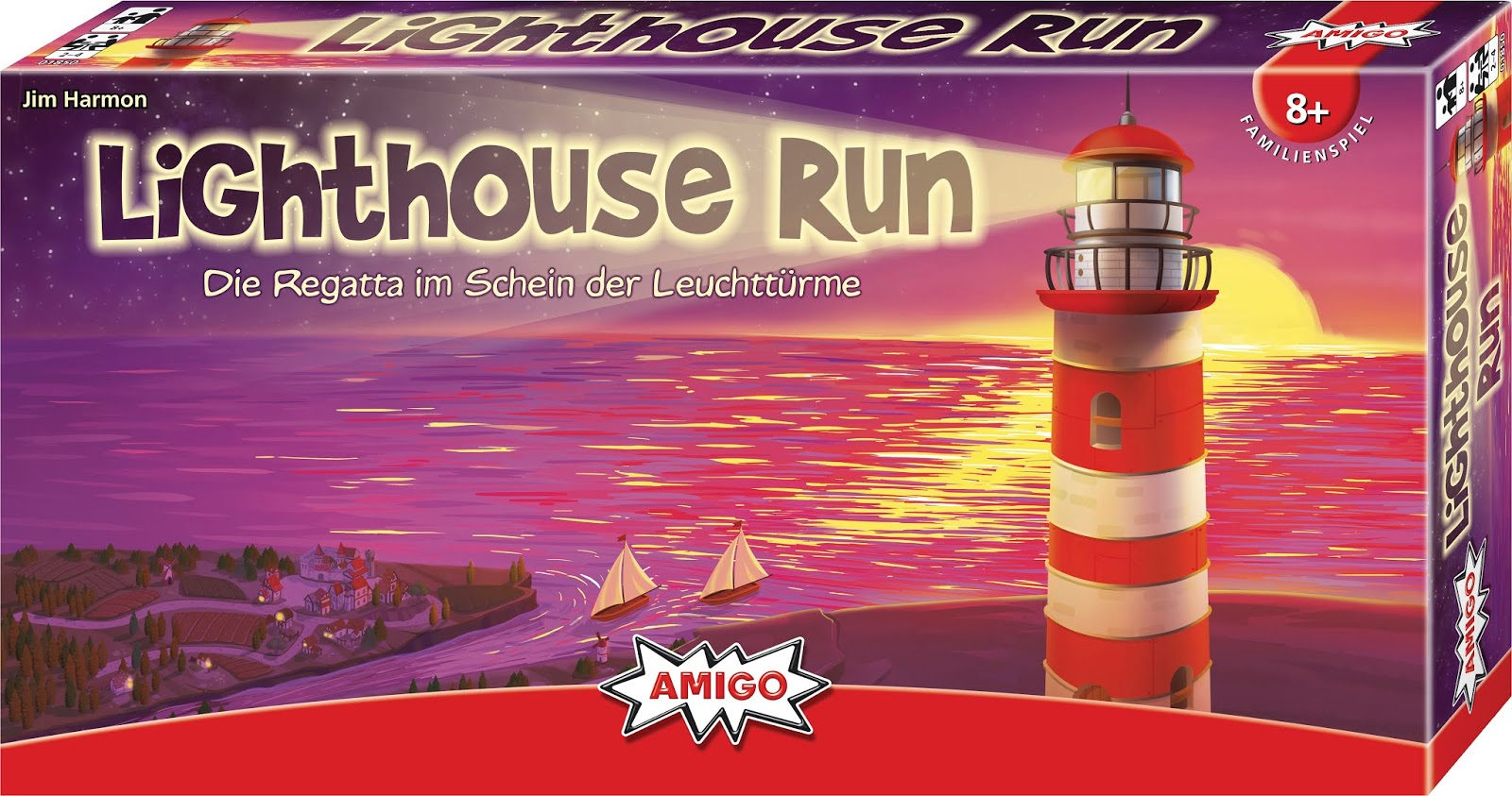 """Familienspiel """"Lighthouse Run"""" für Kinder ab 8 Jahre"""