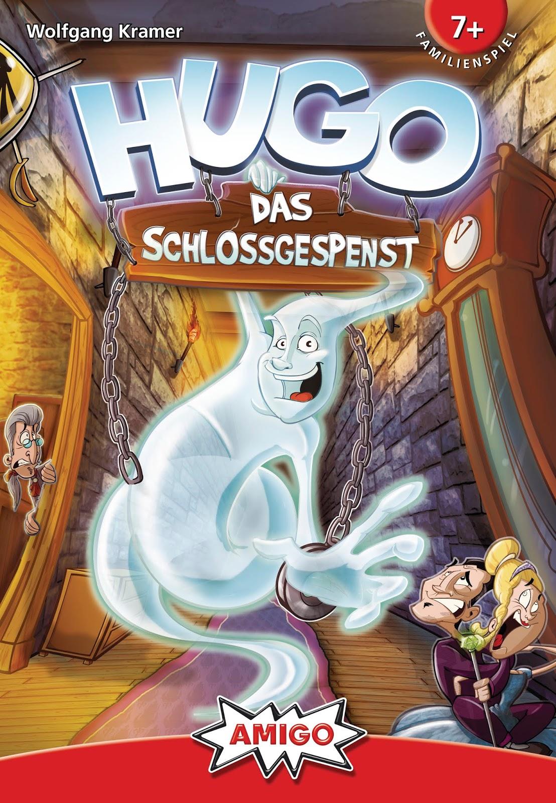 Familienspiel von Amigo - Hugo, das Schlossgespenst