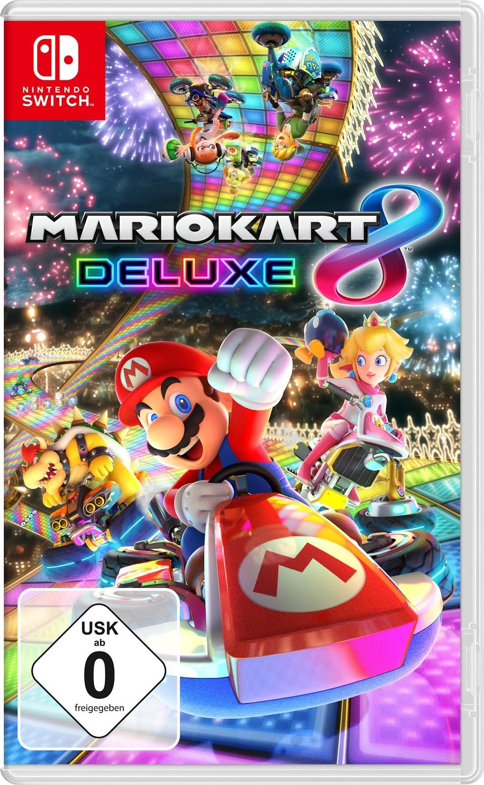 Spielen mit der Nintendo Switch und Super Mario Kart