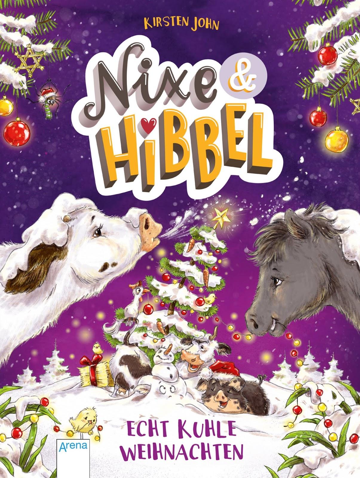 Adventskalender mit der Nixe Hibbel aus dem Arena Verlag