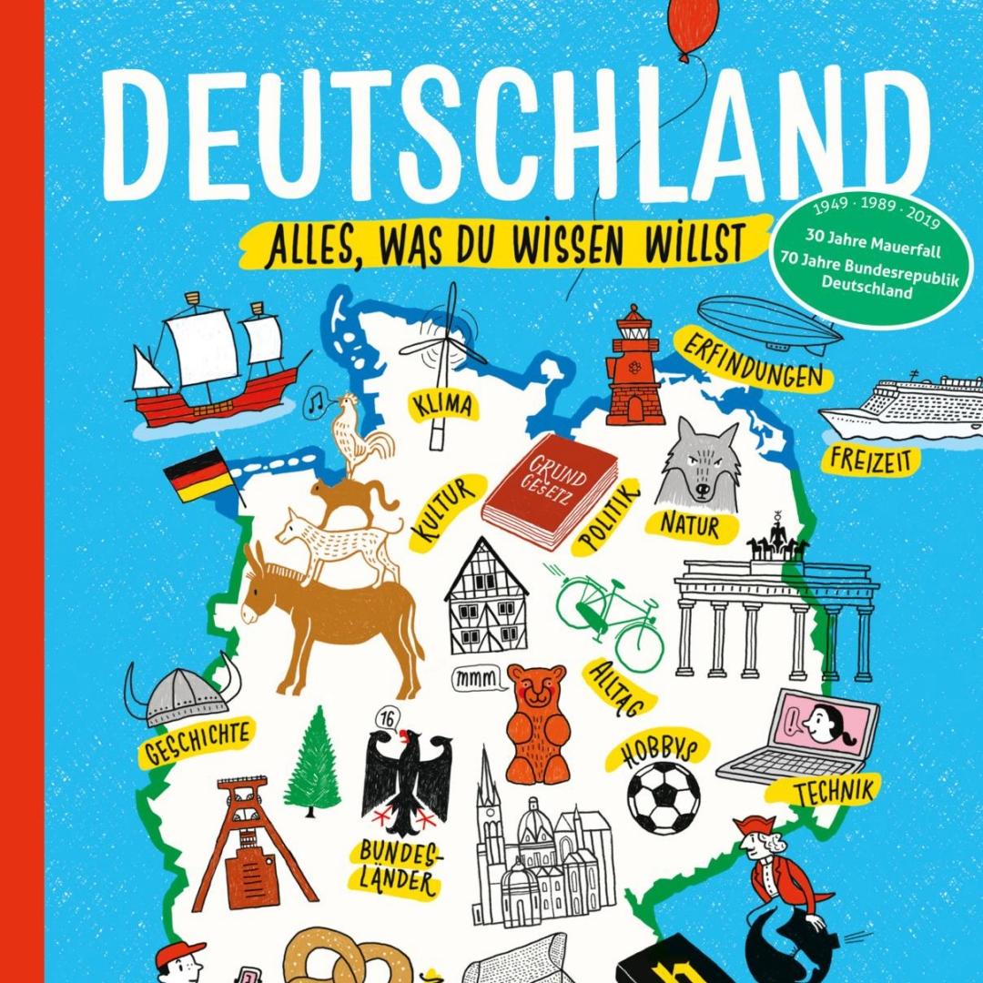 Kinderbuch über Deutschland