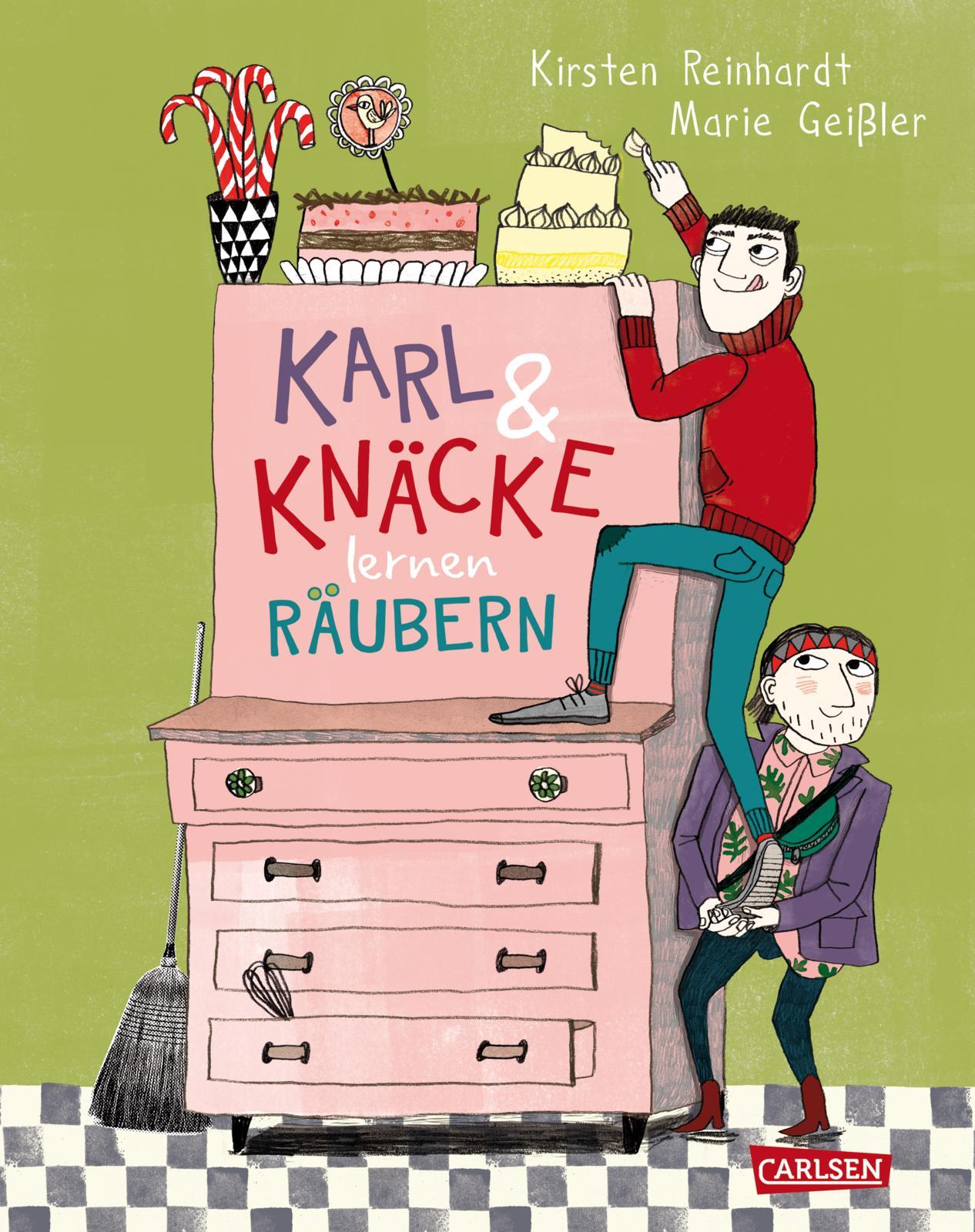 Kinderbücher Karl und Knäcke lernen räubern