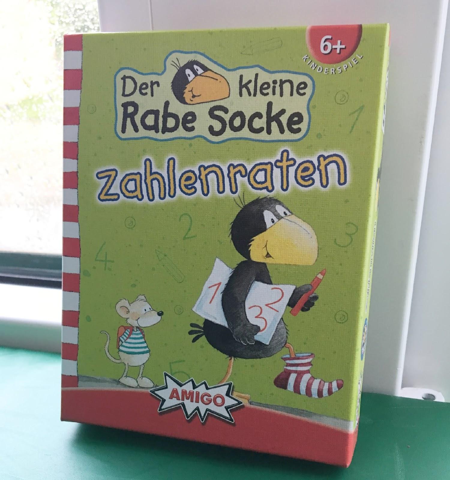 """Amigo Spiel fuer Vorschulkinder """"Der kleine Rabe Socke Zahlenraten"""""""