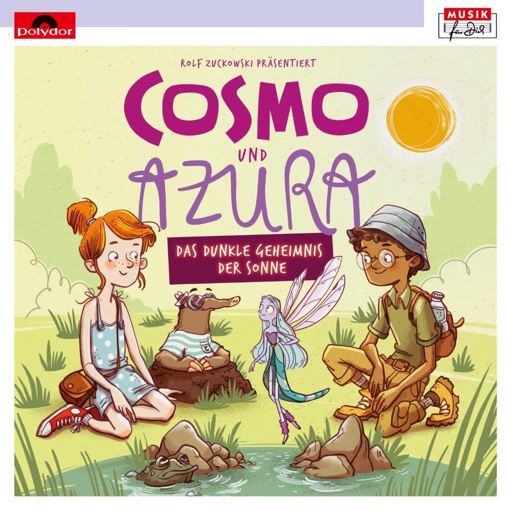 CD-Cover zum Hoerspiel Cosmo und Azura