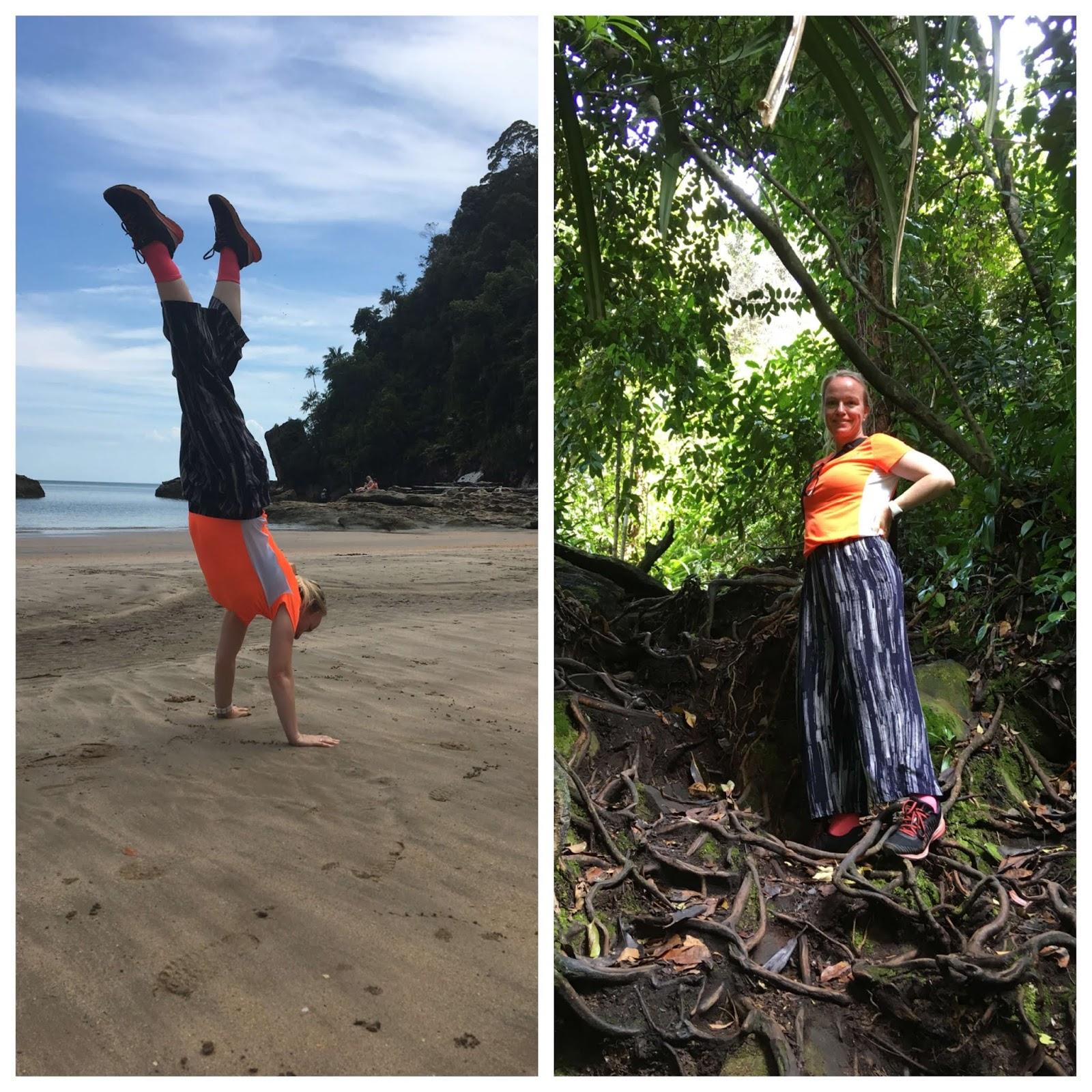 Strand und Dschungel