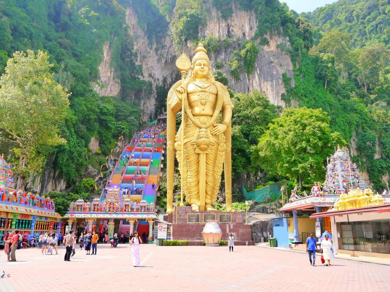Kuala Lumpur Batu Caves Lord Murugan Statue
