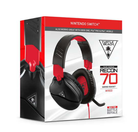 Das richtige Headset Recon 70 Turtle Beach fuer Nintendo Switch