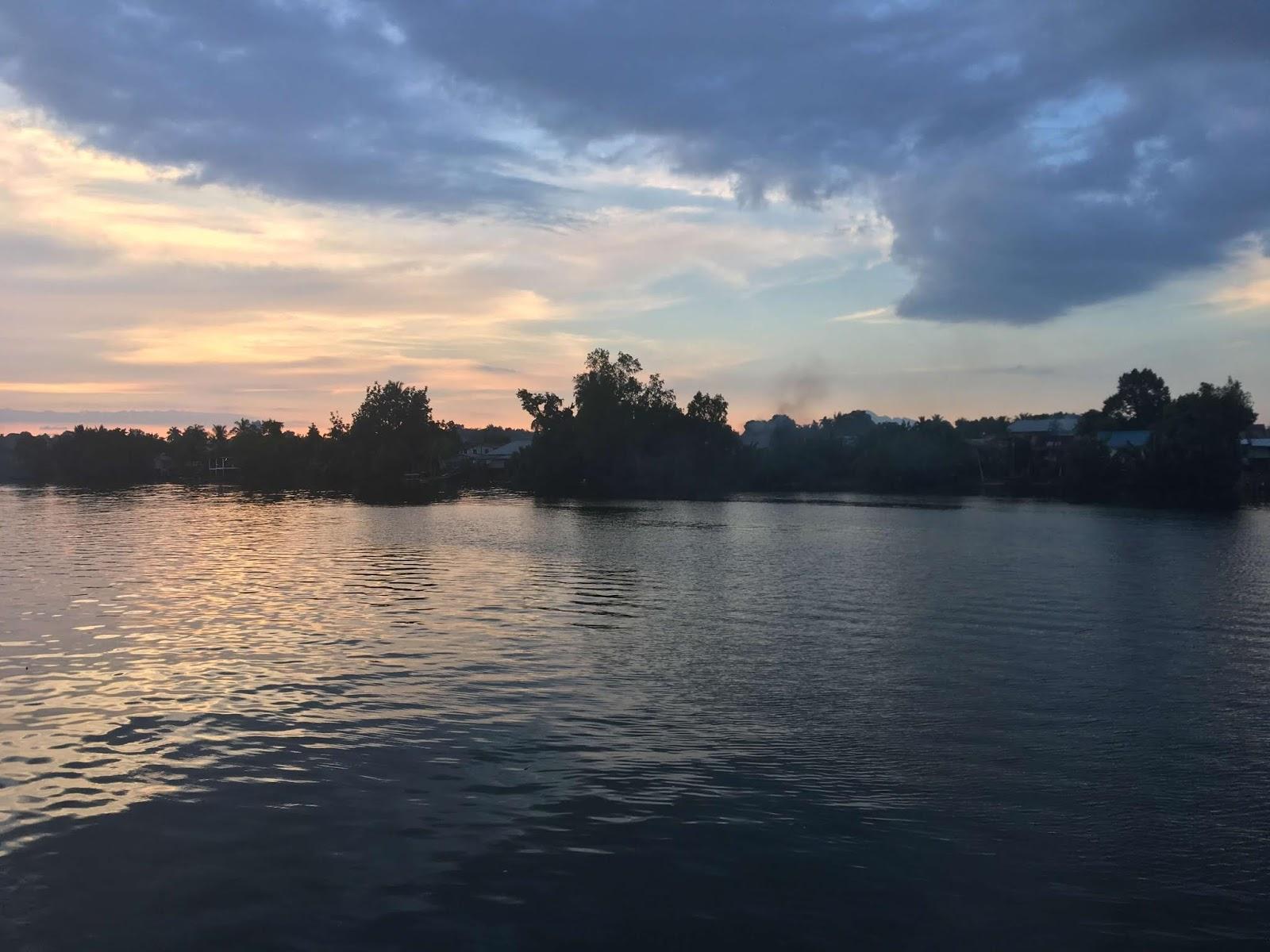 Bootstour auf dem Sarawak Fluss