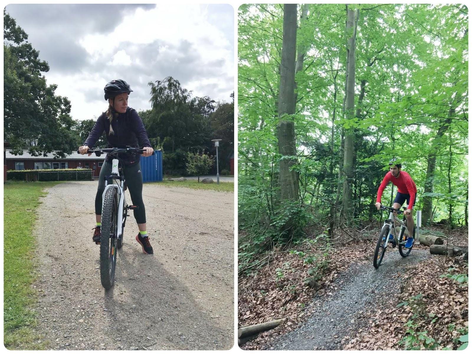 Mountainbiken im Hannerup Vold