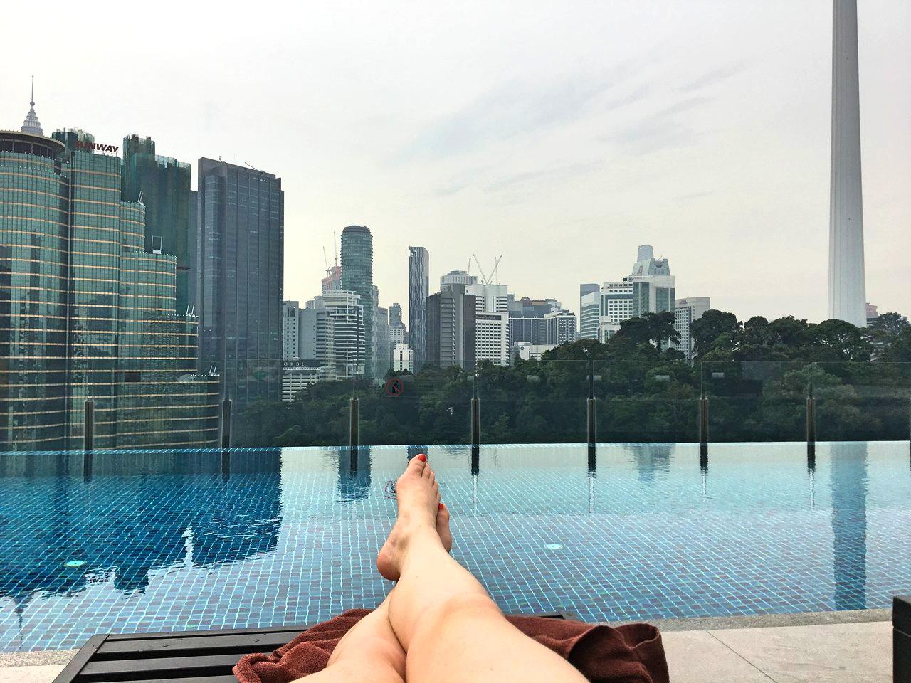Kuala Lumpur Hotel mit Dachpool