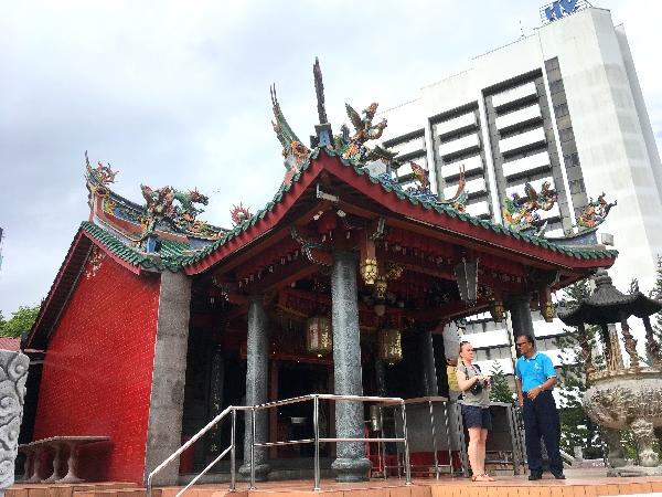 Chinesischer Tempel in Kuching