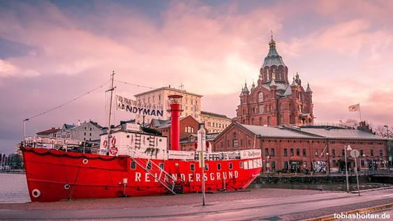 Im Winter nach Helsinki reisen