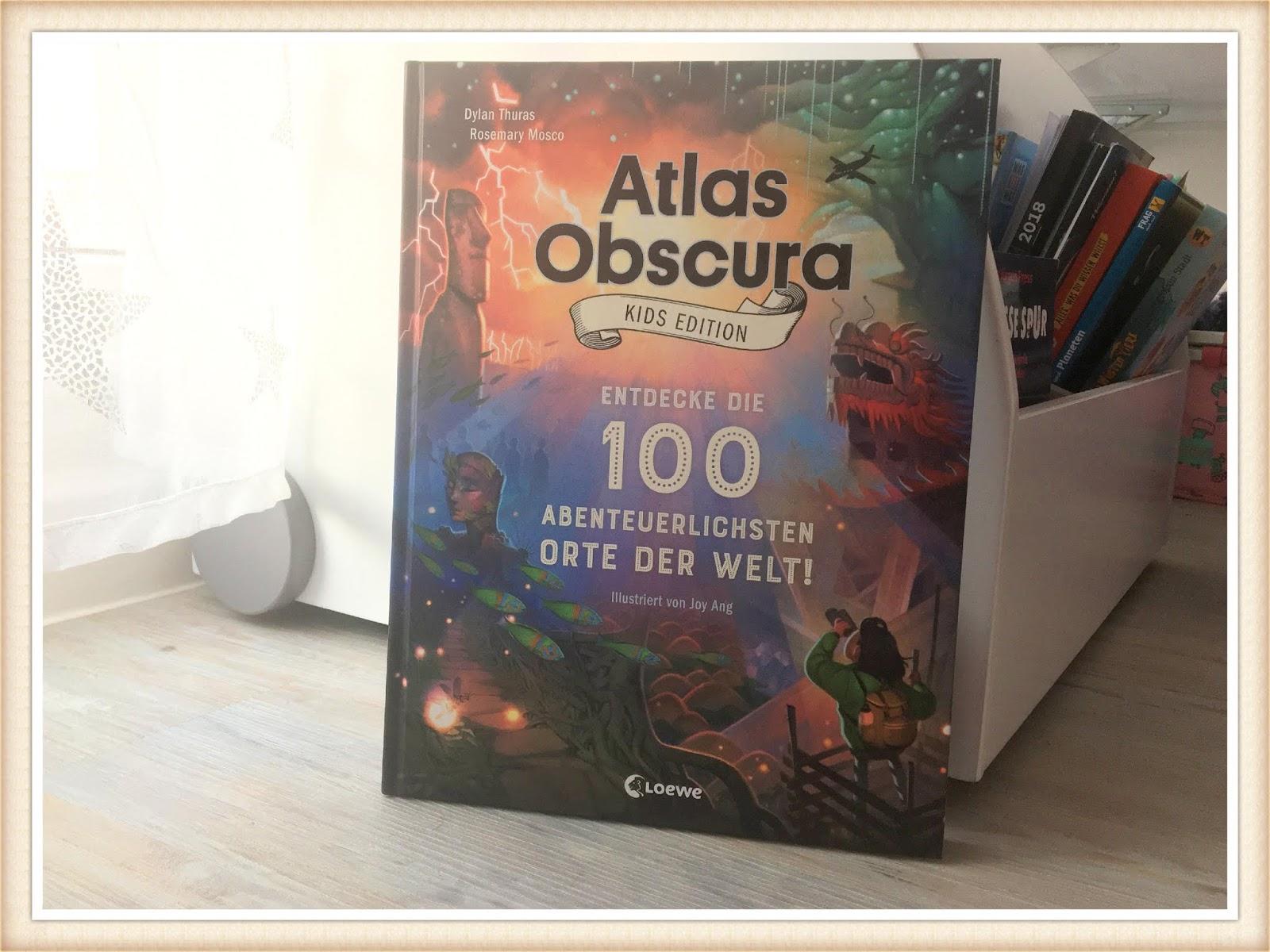 Atlas Obscure fuer Kinder