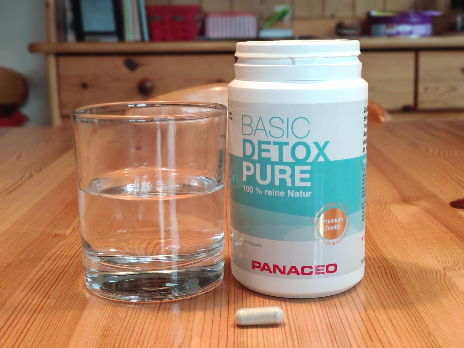 Detoxing mit Panaceo Kapseln