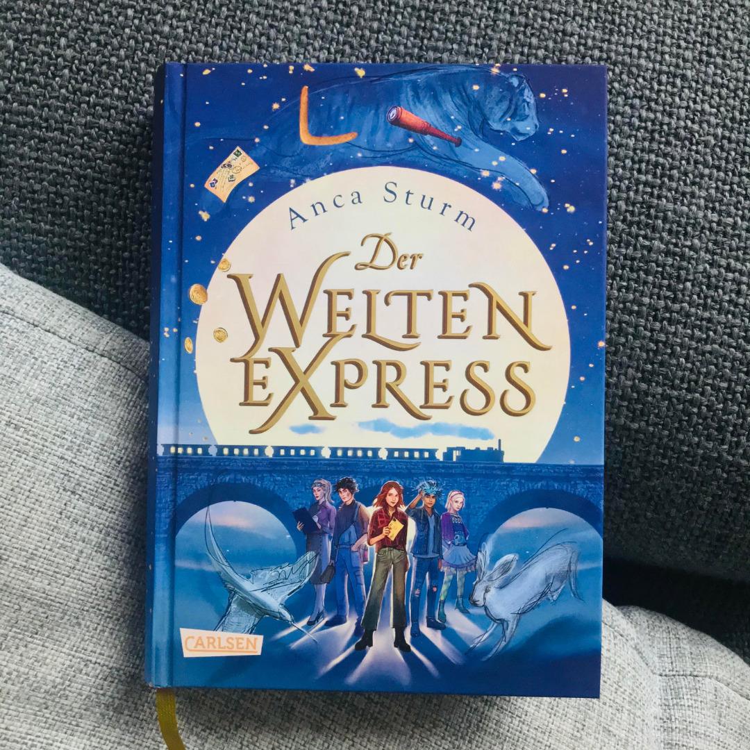 """Buchcover zum Buch """"Der Weltenexpres"""""""