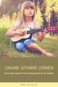 So lernen Kinder online Gitarre spielen.