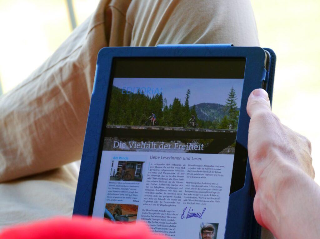 Readly App für bewusste Pausen einlegen nutzen